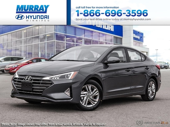 2019 Hyundai Elantra Preferred FWD Sedan