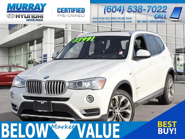 2016 BMW X3 xDrive28i**NAVI**REAR CAMERA*HEADS UP DISPLAY** SAV