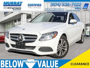 2015 Mercedes-Benz C-Class C300 4MATIC**NAVI**BLUETOOTH**HEATED SEATS** Sedan