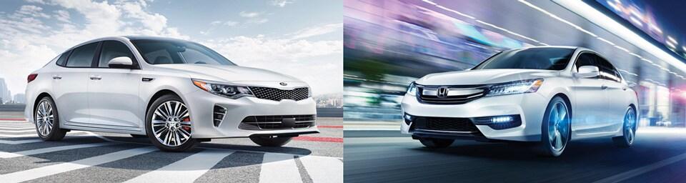 Kia Finance Bad Credit >> 2018 Kia Optima vs. 2018 Honda Accord Sedan Comparison
