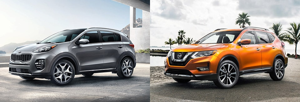 Value Kia Philadelphia >> Kia Sportage vs. Nissan Rogue Comparison