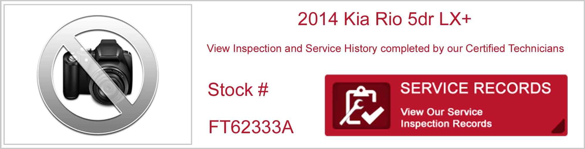 inspection reports service records used cars murray kia