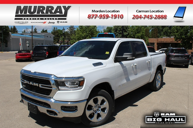 2019 Ram All-New 1500 Big Horn | 3.92 Rear End | Anti-Spin |  Truck Crew Cab