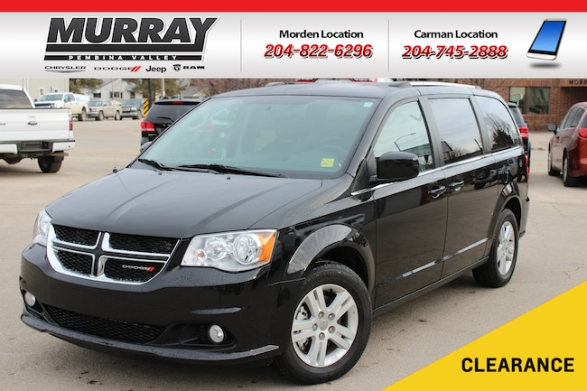 2018 Dodge Grand Caravan Crew * Heated Seats * NAV * Backup Cam * Mini-van Passenger