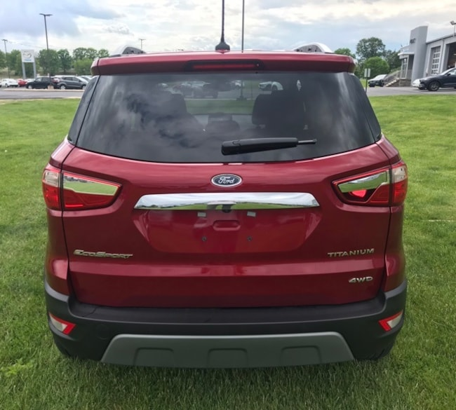 2019 Ford Ecosport: New 2019 Ford EcoSport For Sale At Murray Motor Company