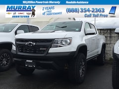2019 Chevrolet Colorado Crew 4x4 Zr2 / Short Box Truck Crew Cab