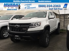 2019 Chevrolet Colorado Crew 4x4 Zr2 / Short Box | Front and Rear selectab Truck Crew Cab