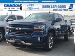 2018 Chevrolet Silverado 1500  | Heated Leather Front Bench Seat Truck Crew Cab