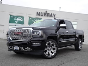 2017 GMC Sierra 1500 Denali CCab 4WD Navigation, Wireless charging Truck Crew Cab