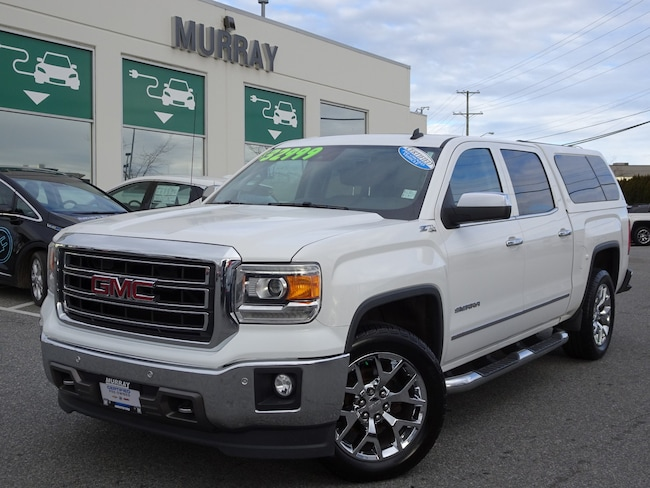 2014 GMC Sierra 1500 SLT CCab 4WD Heated/Cooled front seats Truck Crew Cab