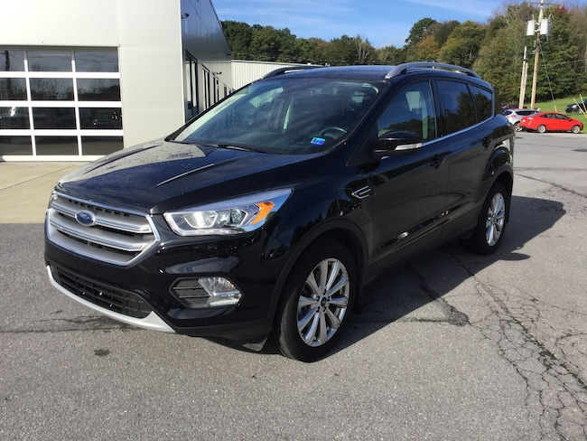 2017 Ford Escape Titanium Four-Wheel Drive with Locking and Limited-Slip Dif