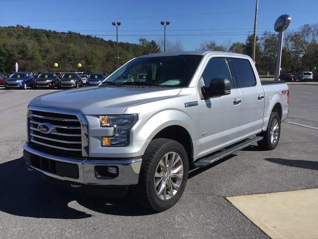 2016 Ford F-150 XLT Four-Wheel Drive with Locking Differential