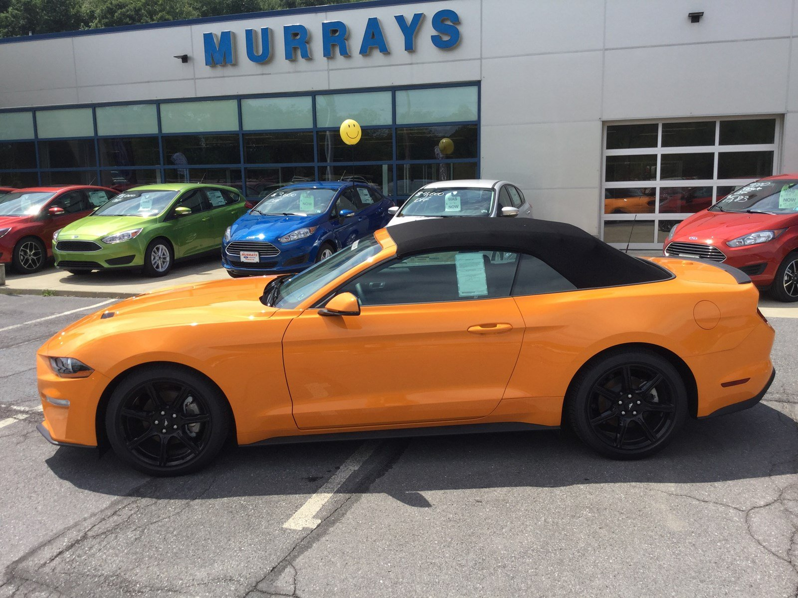 2018 Ford Mustang Ecoboost Premium Convertibl