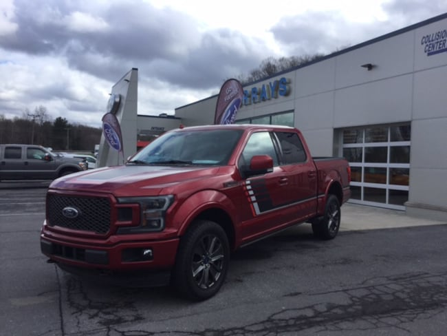 2018 Ford F-150 Lariat Four-Wheel Drive with Locking Differential