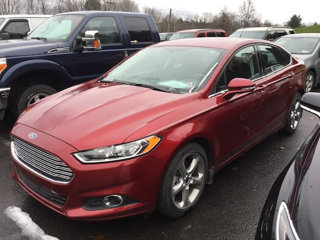 2015 Ford Fusion SE All-Wheel Drive with Locking and Limited-Slip Diff