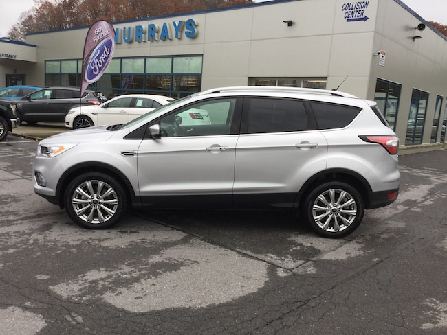 2018 Ford Escape Titanium FOUR-WHEEL DRIVE WITH LOCKING AND LIMITED-SLIP DIF