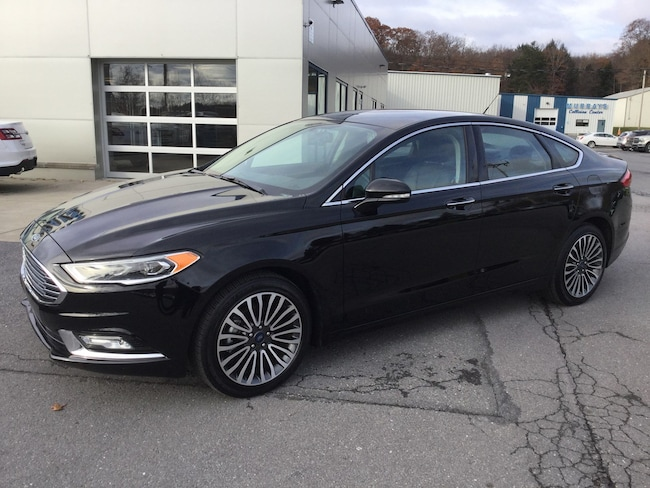 2018 Ford Fusion Titanium All-Wheel Drive with Locking and Limited-Slip Diff