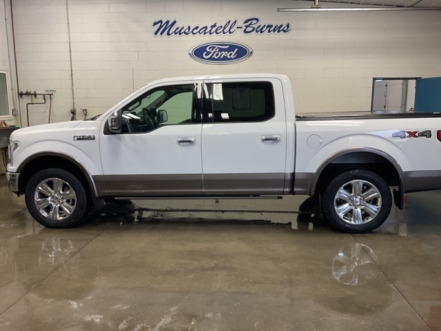 Used 2019 Ford F-150 Lariat with VIN 1FTEW1E55KFC46461 for sale in Hawley, Minnesota