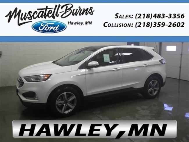 New 2019 Ford Edge SEL SUV in Hawley, MN
