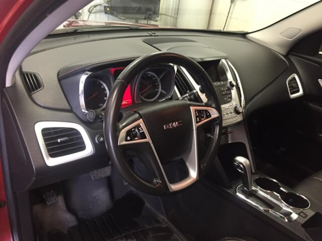 Used 2014 GMC Terrain SUV SLT-1 Crystal Red Tintcoat for Sale in