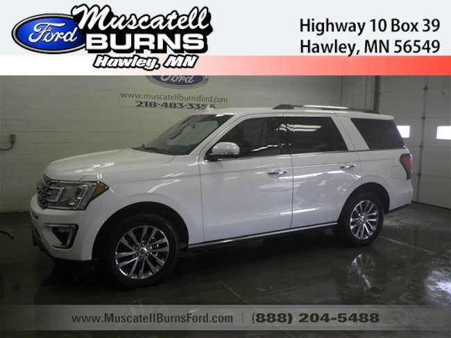 Used 2018 Ford Expedition Limited SUV in Hawley, MN