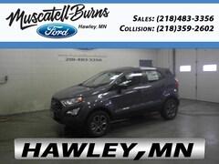 New 2019 Ford EcoSport S SUV in Hawley