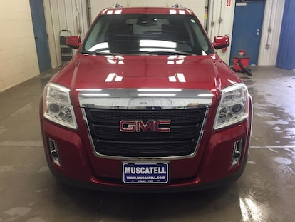 Used 2014 GMC Terrain SUV SLT-1 Crystal Red Tintcoat for