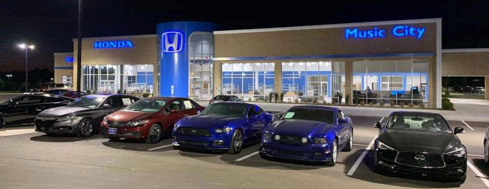 Music City Honda Dealership in Mt. Juliet, TN
