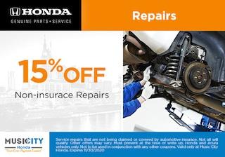 Repair discount