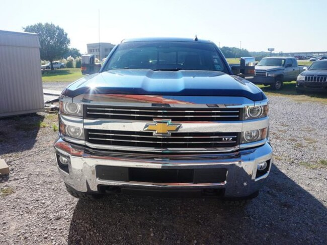 2015 Chevrolet Silverado 2500HD LTZ Truck Crew Cab