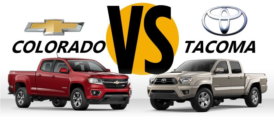 2015 Toyota Tacoma Boston Massachusetts Chevy Colorado Vs Toyota