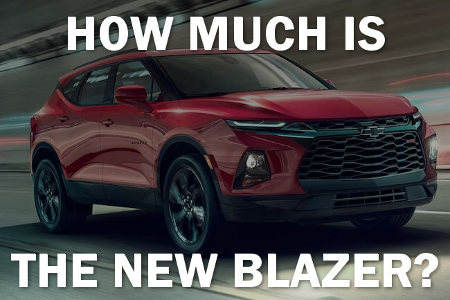 The All New 2019 Chevy Blazer Price Has Just Been Released Muzi