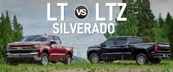 Compare The 2019 Silverado LT vs LTZ Trim Levels | An