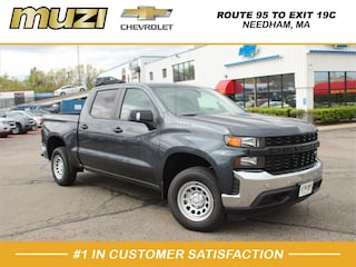 New 2019 Chevrolet Silverado 1500 Work Truck 4x4 Work Truck  Crew Cab 5.8 ft. SB near Boston, MA