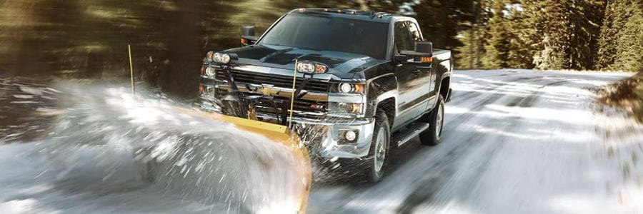 Chevy Snow Plow Trucks Boston Ma Silverado Plows At