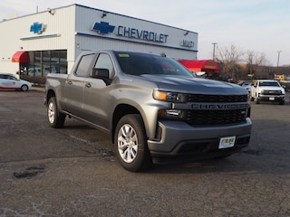 New 2021 Chevrolet Silverado 1500 Custom Truck Crew Cab for sale in Needham Heights MA