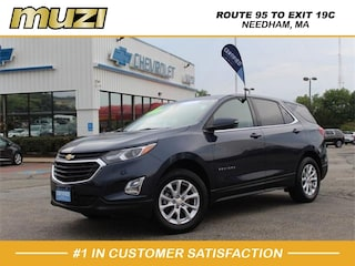 Certified 2018 Chevrolet Equinox LT 4x4 LT  SUV w/1LT for sale near Boston, MA at Muzi Chevy