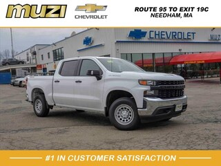 New 2019 Chevrolet Silverado 1500 Work Truck Truck Crew Cab for sale in Boston MA