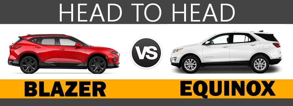 2019 Chevy Blazer Vs 2019 Chevy Equinox Boston Ma
