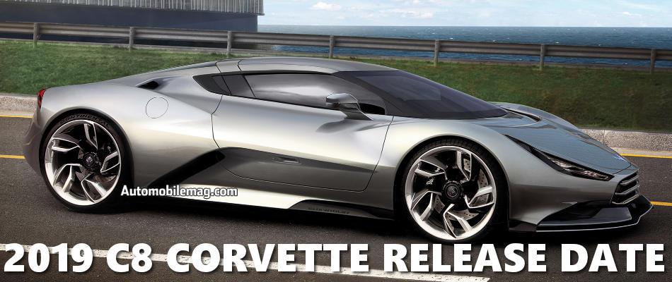 Zukunftsaussicht: Corvette C8 (2019) Details/Erlkärung