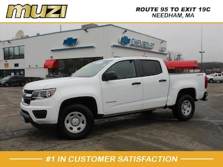 Certified 2018 Chevrolet Colorado Work Truck Crew Cab for sale near Boston, MA at Muzi Chevy