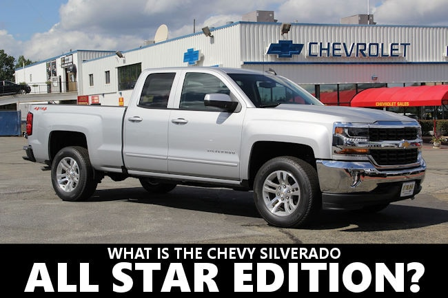 muzi chevrolet what is the chevy silverado all star package