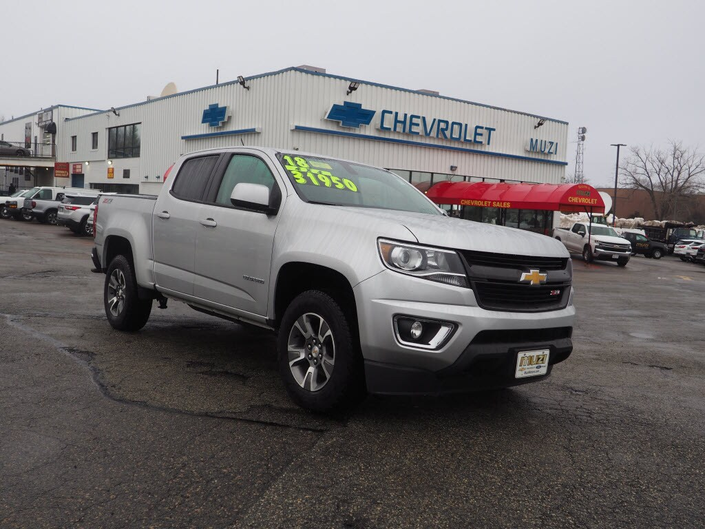 2018 Chevrolet Colorado 4x4 Z71 Crew Cab 5 ft. SB