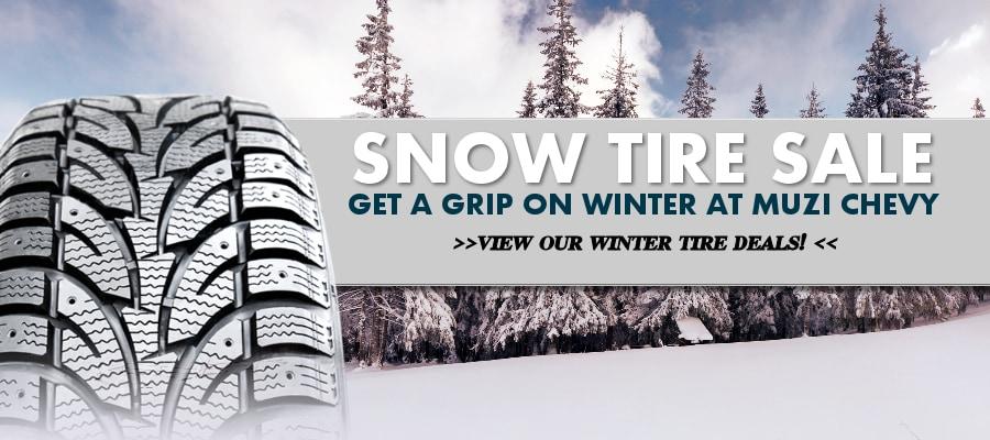 Winter Tires For Sale >> Chevy Winter Tire Sale At Muzi Chevy Near Boston Ma