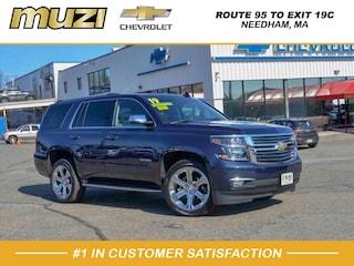 New 2019 Chevrolet Tahoe Premier 4x4 Premier  SUV 1GNSKCKC1KR122285 for Sale near Boston at Muzi Chevy