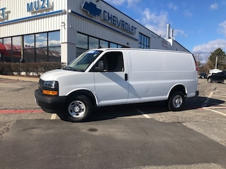 Certified 2019 Chevrolet Express Cargo 2500 2500  Cargo Van for sale near Boston, MA at Muzi Chevy