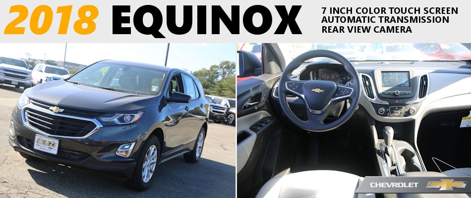 2018 Chevy Equinox Lease Deals At Muzi Serving Boston Ma