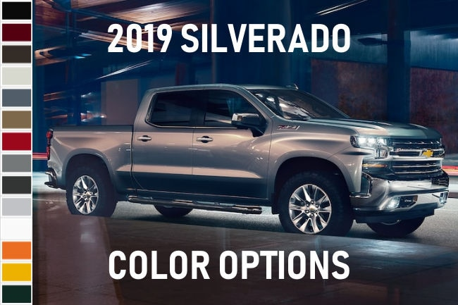 2019 Silverado Interior Colors | Home Plan