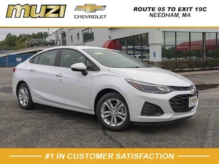 New 2019 Chevrolet Cruze LT LT  Sedan 1G1BE5SM8K7104553 for sale in Boston at Muzi Chevrolet
