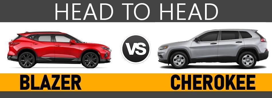 2019 Chevy Blazer vs 2019 Jeep Grand Cherokee Boston, MA